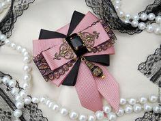 """Купить Брошь-орден """"Чайная роза"""" - розовый, однотонный, винтажный стиль, винтажные украшения"""