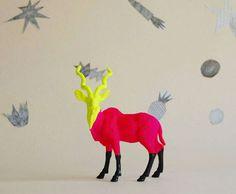 antelope - the strange planet. $69.00, via Etsy.