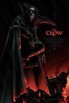 Matt Ryan, Brandon Lee, Movie Poster Art, New Poster, Crow Movie, Crow Art, I Love Cinema, Pop Culture Art, Alternative Movie Posters