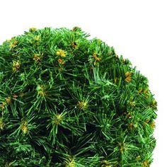 Europalms X-Mas  83500272 Tannenkugel, 30 cm, grünTannenkugel ¨Dichtgesteckte, tiefgehende Zweige ¨Flammhemmend ¨Mit Aufhängevorrichtung ¨Grün mit natürlich wirkenden braunen Spitzen ¨Durchmesser 30 cm