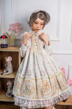 定金*hinana的小裙子*姬梦天使*OP连衣裙-淘宝网