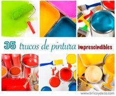 35 trucos de pintura absolutamente imprescindibles