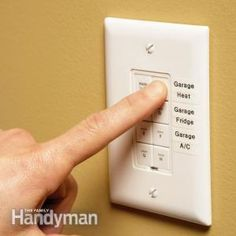 Control devices and lights anywhere in the house with a X10 switch!