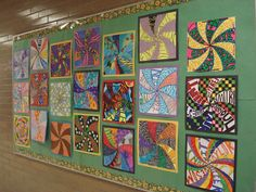 Ecole art, art activities, first week activities, get to know you activitie High School Art, Middle School Art, School Life, 7 Arts, 6th Grade Art, Design Floral, Ecole Art, Math Art, School Art Projects