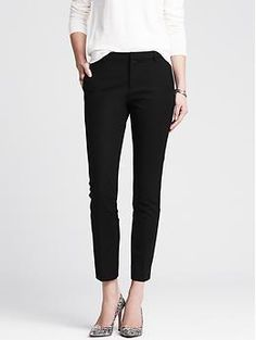 Slim-Fit Cropped Pant - an absolute must. Ankle Pants Outfit 69c41a8ab3f