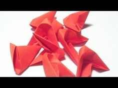 ▶ 3D origami for beginners (remake) - YouTube