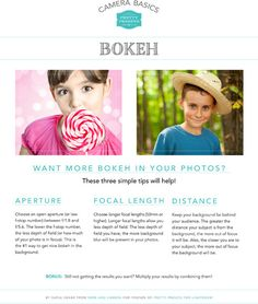Bokeh, an effect created by a shallow depth of field within your lens, is a very popular effect in various areas of photography from portraits all the way to na