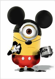 Mickey Mouse Minion… http://www.FunnyBundle.com