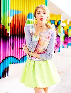 Summer Trend: Go Bright TEEN VOGUE BUY NOW!