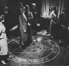 Learn about Wicca, which is a modern pagan witchcraft religion that was introduced in 1954 by Gerald Gardner, a British civil servant. Maleficarum, Witch Coven, Satanic Rituals, Occult Art, Season Of The Witch, Black Magic, Wiccan, Wicca Witchcraft, Dark Art