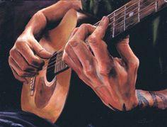 hands in art - Yahoo Image Search Results Guitar Drawing, Guitar Painting, Guitar Art, Art Painting Gallery, Art Gallery, Basketball Drawings, Basketball Art, Classical Art, Renaissance Art