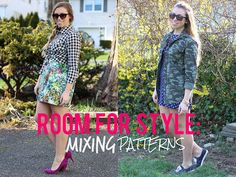 Living After Midnite: Room for Style: Mixing Patterns by jackiegiardina, via Flickr