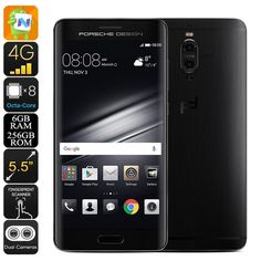 Telefonia e GPS Smartphone Huawei Mate 9 Porsche Android 7.0 CPU Octa-Core 6 GB di RAM 20MP Dual-Camera 2560x1440p Dual-IMEI 4G Huawei
