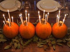 Fall Centerpieces + Halloween Pumpkin Decorating http://www.diynetwork.com/how-to/make-and-decorate/decorating/2015-pictures/unique-pumpkin-decorating-ideas-for-2015- >>