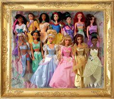 All Disney Princesses Dolls by fragolette.deviantart.com on @deviantART