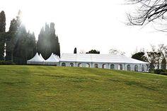 la tensostruttura del Parco Sigurtà dove allestire un ricevimento di matrimonio in giardino