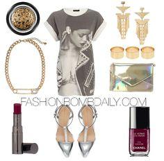 Rihanna x Outfits