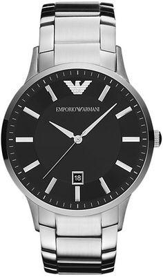 4f0a957218197 Emporio Armani Men s Stainless Steel Bracelet Watch Armani Uhren, Gents  Watches, Wrist Watches,