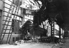 El collision. Subway Crash, September 11, 1905. At least 12 people were killed when this train crashed at Ninth Avenue and 53rd Street, a notorious curve where the Sixth and Ninth Avenue Els diverge. The crash was blamed on switch malfunction.