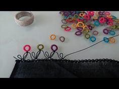 Embroidery Stitches Tutorial, Blouse Neck Designs, Baby Knitting Patterns, Diy And Crafts, Tassels, Youtube, Silk, Embroidery, Flowers
