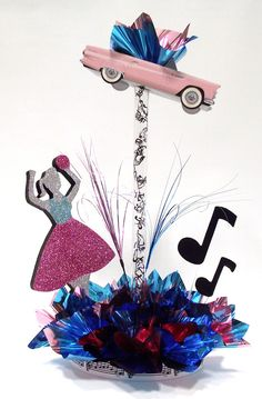 If you're looking for party decorations, birthday party supplies custom, & DIY themed centerpiece kits, You'll find something here for any occasion. Sock Hop Decorations, 50s Party Decorations, 50s Theme Parties, Dance Decorations, Party Themes, Party Ideas, Fifties Party, Retro Party, 1950s Party
