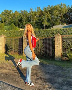 Swag Outfits For Girls, Summer Outfits Women, Girly Outfits, Casual Outfits, Cute Outfits, Look Fashion, Teen Fashion, Fashion Outfits, Model Poses Photography