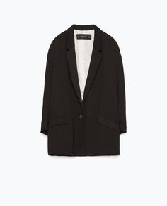ZARA - WOMAN - LOOSE CREPE JACKET
