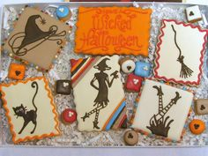 Wicked Halloween Cookies