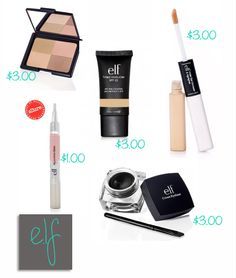 Cheap makeup that looks just as good as expensive makeup
