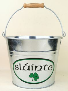 Irish Ice Bucket: Slainte