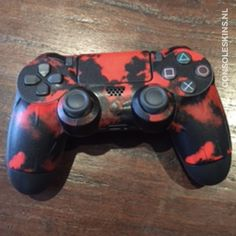 Army Camouflage Red - PS4 Controller Skins Ps4 Skins, Army Camouflage, Ps4 Controller, Gaming, Video Games, Games, Game