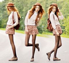 And autumn leaves are starting to fall. (by Ebba Zingmark) http://lookbook.nu/look/2397273-And-autumn-leaves-are-starting-to-fall