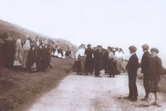 Photo collection of Maggie Land Blanck  Crossroad Dancing was a popular pastime in rural Ireland. Crossroad dances usually occurred on a S...