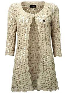 crochet coat - Pesquisa Google