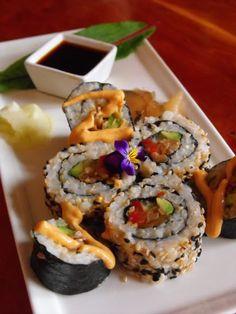 Japanese Night Tonight! Sushi at Ravens' Restaurant