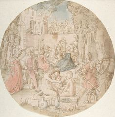 Artist: After Breu the Younger, Jörg. Title: The Garden of Love. Date: 1st half 16th century