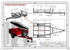 OFF-ROAD Camper Trailer PLANS - Trailer Design -3 Sizes