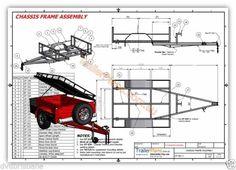 Todoterreno Camper Remolque planes-Trailer Diseño -3 Tamaños