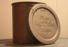 Vintage Kodak Film Tank Canister