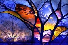stained glass thunderstorm - Google Search