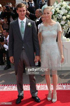 Pierre  Casiraghi  and  Beatrice  Borromeo