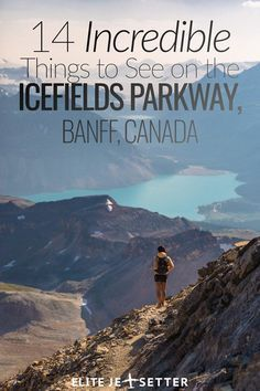 14 incredible things to see on the Icefields Parkway Banff, Canada. Quebec, Montreal, Vancouver, Toronto, Places To Travel, Travel Destinations, Places To Visit, Alberta Canada, Voyage Canada