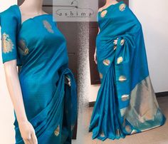 Code:0505170 - Price INR:9290/- , Soft Silk Saree With Woven Motifs And Pallu