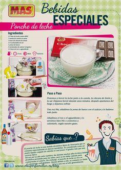 Se acerca la #Navidad, ¿qué os parece aprender a preparar un #ponche de leche?