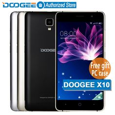 >> Click to Buy << In Stock Now DOOGEE X10 mobile phones 5.0Inch IPS 8GB Android6.0 smart phone Dual SIM MTK6570 5.0MP 3360mAH WCDMA GSM cellphone #Affiliate