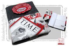 Kalenderbuch-Hülle, Timer, Filoflex von Die tapfere Schneiderin, handmade with love ... by Viola auf DaWanda.com