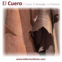 El Cuero. Es una materia prima con múltiples cualidades al mismo tiempo, flexibilidad, dureza, resistencia y suavidad. Base de la calidad de nuestros artículos hechos a mano. #TallerMartinezC #Cuero #Bolsos #Bogota
