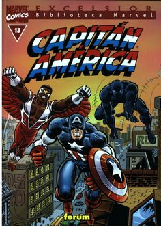 Biblioteca Marvel Capitán América  nº 13 Cool Cartoons, Comic Covers, Comic Character, Marvel Universe, Captain America, Comic Books, Fan, Superhero, Cool Stuff