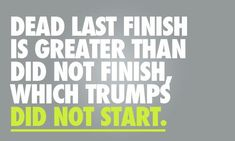 I have to keep this in mind. I'm going to do my first marathon soon and am worried about how slow I'll be.