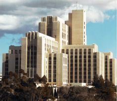 "LAC+USC Medical Center. The real ""General Hospital"". Art Deco design #GH #GH50"